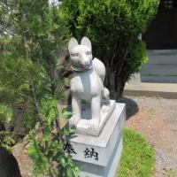 東御市田中のお稲荷さん(#^.^#)