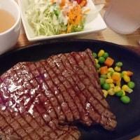 沖縄のステーキ(^-^)