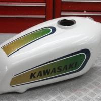 カワサキTR250バイソンのオールペイントです。