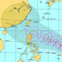 台風21、22号