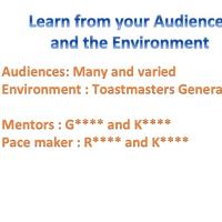 """ハーバード留学英語3年目編013:toastmasterいよいよファイナル""""inspire your audience"""""""