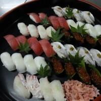 今日はお寿司