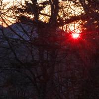 皇海山の日の出