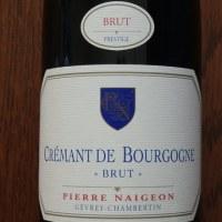 CREMANT DE BOURGOGNE BRUT Pierre Naigeon