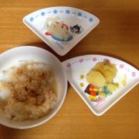 今日の離乳食(2回目)【78日目】