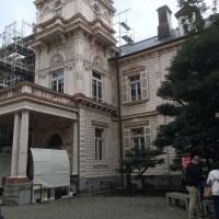 12月議会、旧吉田家住宅の管理運営について質問。その参考にするため、旧岩崎邸に行ってきました。