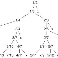左と右の有理数