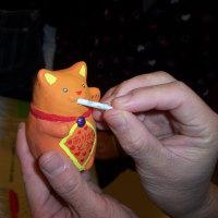 パチャママ屋・出張招き猫ワークショップ♪@世田谷