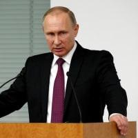 """朝から""""プーチン""""・・・??"""