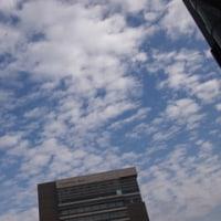 福島市のうろこ雲。