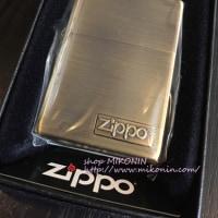 【NEW】 ZIPPO ロゴメタル 入荷