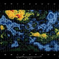 金星の巨大な弓状模様の成因を解明