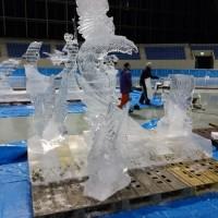 エムウェーブ氷彫刻展 2017 作品集