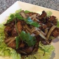 タイ料理カラメルポーク
