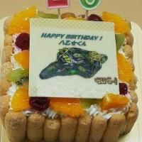 今日のらじらー お誕生日ケーキ♪