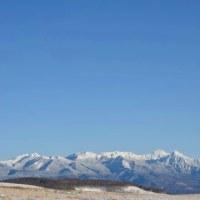 八ヶ岳ホワイトパノラマもまばらな雪となる小春日和蓼科。