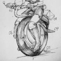 2016.10/16 お題_『1輪バイク』