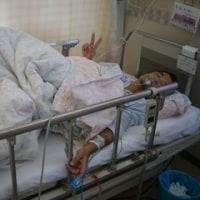 入院4日目(腹腔鏡下胆嚢摘出手術 当日)