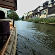 ジョグの後は堀川遊覧船に乗る。 2017山陰の夏ジョグ1