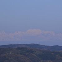 ●河北潟から 白山と立山連峰と剱岳