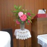 教会へ(5月21日礼拝)