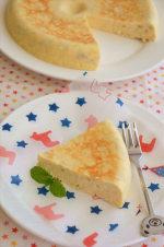 炊飯器でつくるバナナチーズケーキ、超簡単でヘルシー! ~マイナビニュースに掲載~