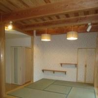 内装の仕上がると、完成が近いと実感します ・・・ 飯田市新築