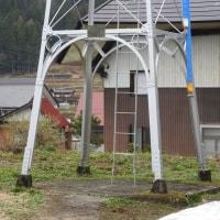 野沢温泉村虫生の火の見櫓