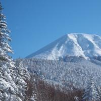 御嶽山 雪景色