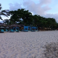 バリ2017:13_ジンバランビーチの夕日