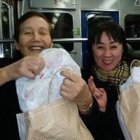 不良爺さん(まじめおばさん)達にヤーコン配達(2017/1/18)