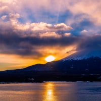 本栖湖より富士