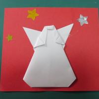 12月のカード 天使さま