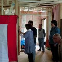 【家づくり教室】現場公開中~『強くて、安くて、安心の家』 上棟祭編 ~№8