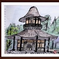 伊賀上野にて(1)俳聖殿