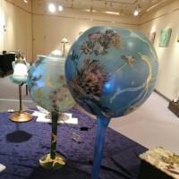 日曜日無事にアトリエ・ヌーボー デコパージュ教室展終わりました。