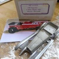 OM Superba MilleMiglia 1927 製作準備