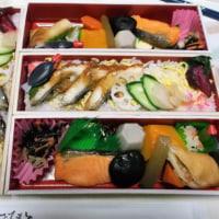 大阪から持ち帰った「お弁当・・花紀行」で夕飯