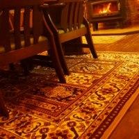 ベルギー製の絨毯がやってきた