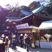 2017年の江ノ島初詣