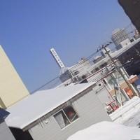 2017/2/27 午前9時半前札幌の空模様  快晴!!!