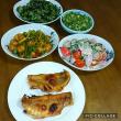 つるむらさき初収穫と虫食いトマトサターンと里芋の土寄せ!