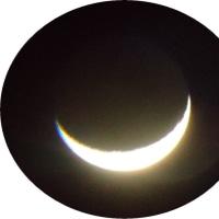 今朝の木星と月のコラボ 2016.10.27