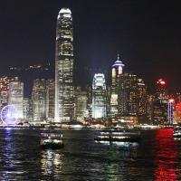 香港ヴィクトリア・ハーバーの夜景 4