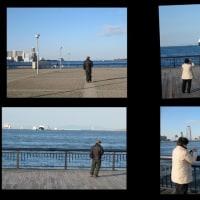 3月16日(木)・天保山に客船