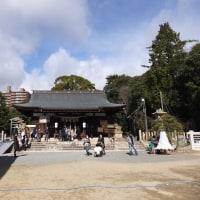 神戸・弓弦羽神社のどんど焼に行きました。