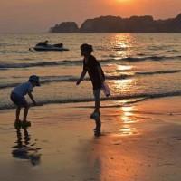 夏を惜しんで~材木座海岸