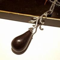【こまち彫金工房】勝虫トンボのそら豆タックピン