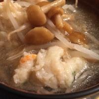 濃厚クリーミーグラタン なめ茸もやし海老すり身入り和風スープ 絶品ディナー