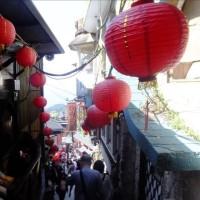 春の台湾の風景・・九分